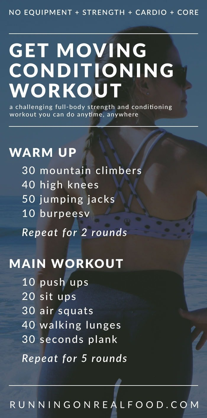 full body strength and conditioning workout