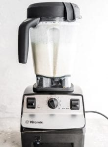 How to Make Creamy Almond Milk in a Vitamix.