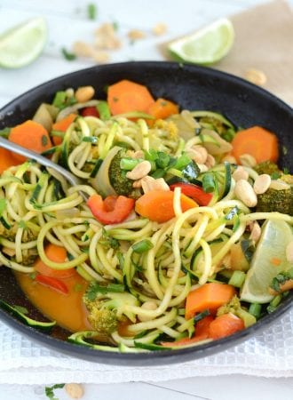 Vegetable Thai Red Curry - Easy, Healthy, Vegan, Less than 30 Minutes
