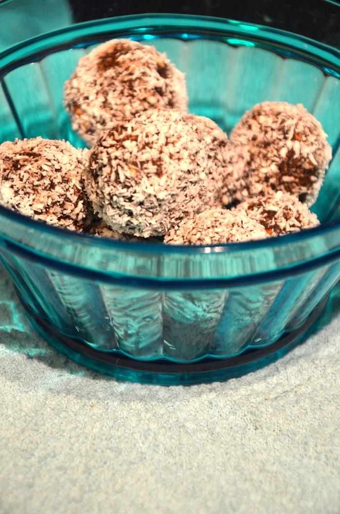 Raw Vegan Hazelnut Truffles