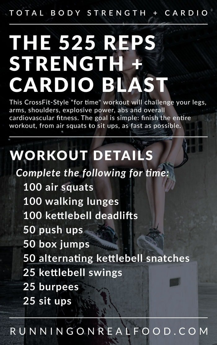 Total Body Strength and Cardio Workout: A Crossfit-Style ...
