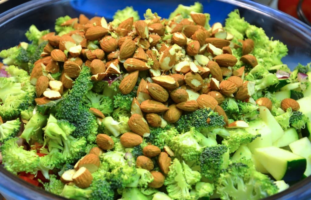 Almonds and Broccoli