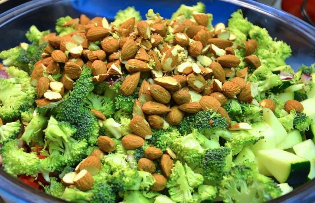 Almonds and Broccoli
