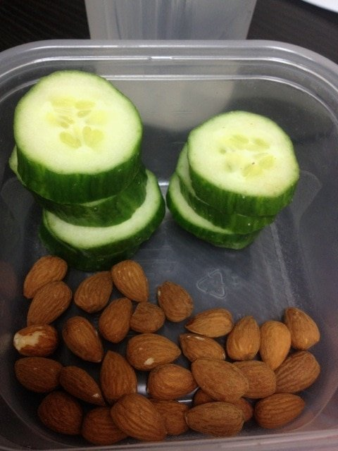 Cucumber and Almond