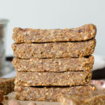 Vegan No-Bake Almond Oats Bars