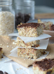Vegan Date Banana Oat Bars