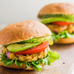 Vegan Spicy Chickpea Veggie Burgers - Running on Real Food
