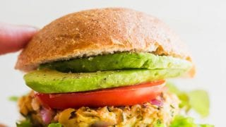 Dinner: Spicy Chickpea Veggie Burgers