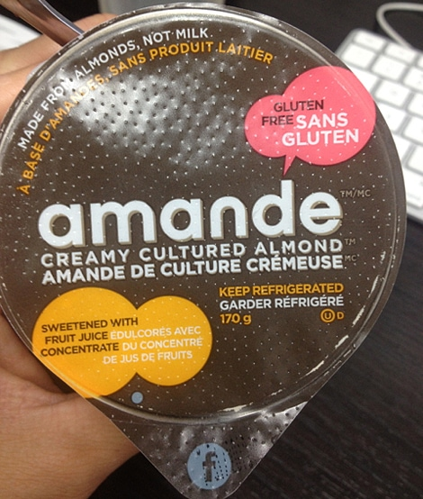 Amande Almond Yogurt