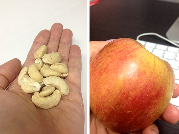 What I Ate Wednesday Morning Snack