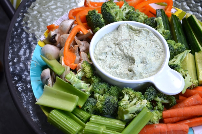 Raw Zucchini and Hemp Seed Hummus