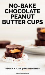 Easy Vegan Chocolate Peanut Butter Cups
