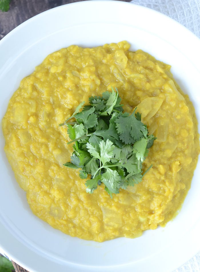 Vegan Coconut Red Lentil Dahl