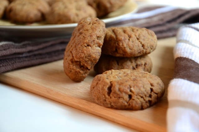 Vegan Ginger Cookies | Running on Real Food
