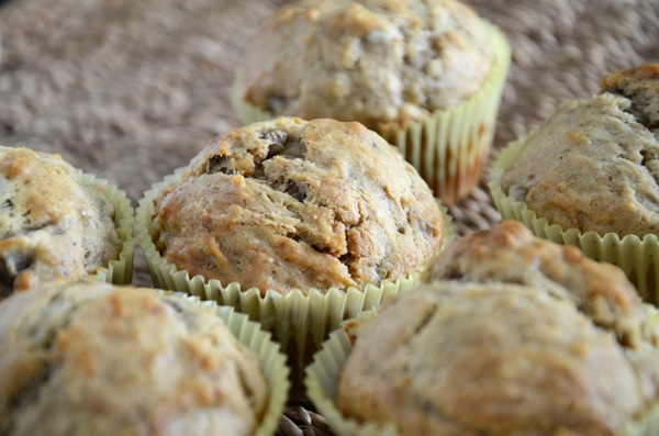 Vegan Muffin | Running on Real Food