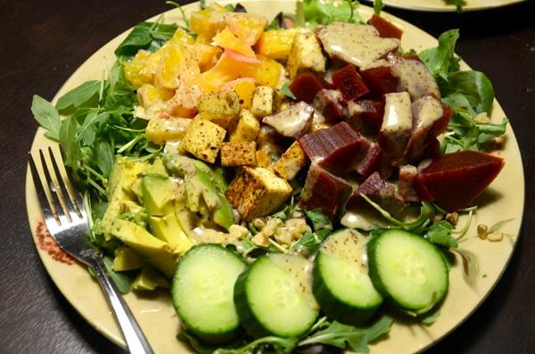Amazing Vegan Salad | Running on Real Food
