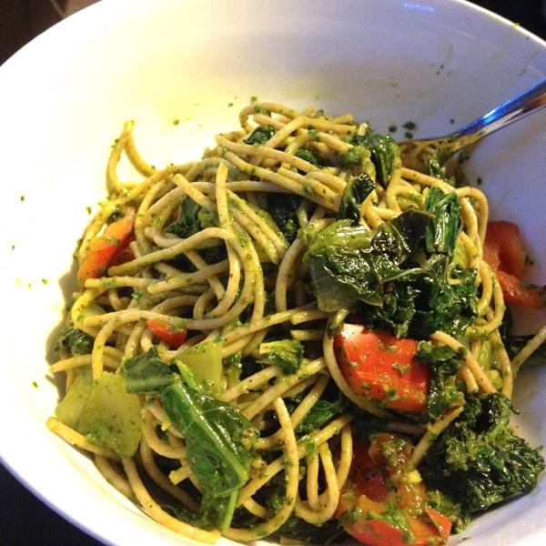 Pesto Pasta | Running on Real Food