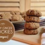 Vegan Spicy Ginger Cookies   Running on Real Food
