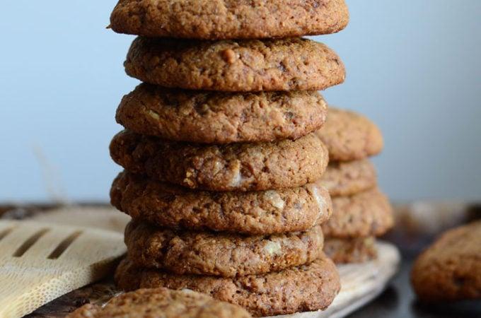 Spicy Vegan Ginger Cookies