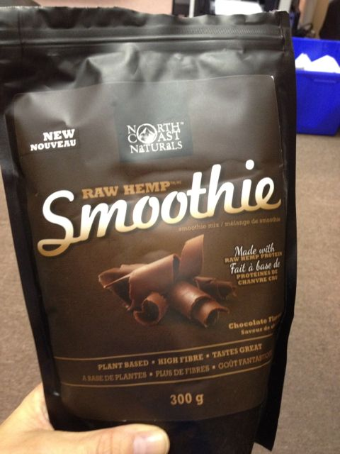 NOrth Coast Naturals Raw Hemp Smoothie