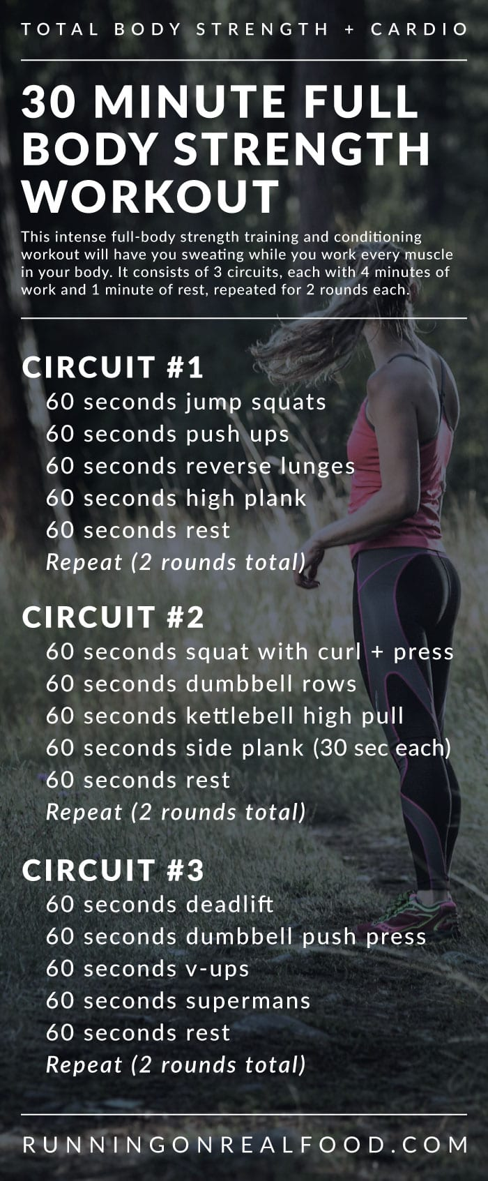 30 minute full body strength training workout for the gym 30 minute full body strength training workout