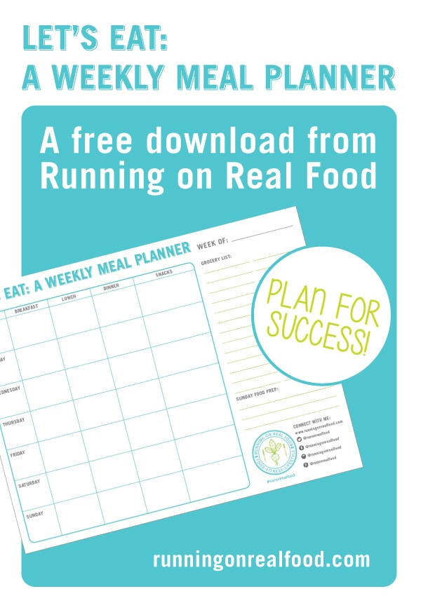 Free Download: Weekly Meal Planner