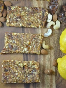 Homemade Lemon Pie Larabars (Vegan, Gluten-Free)