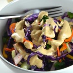 Pad Thai Slaw (Vegan, Gluten-Free, Paleo) #cleaneating #veganrecipes