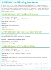 CrossFit EMOM Workouts for Conditioning