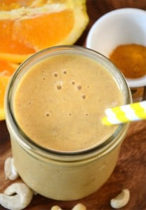 Orange Mango Recovery Smoothie (Vegan)