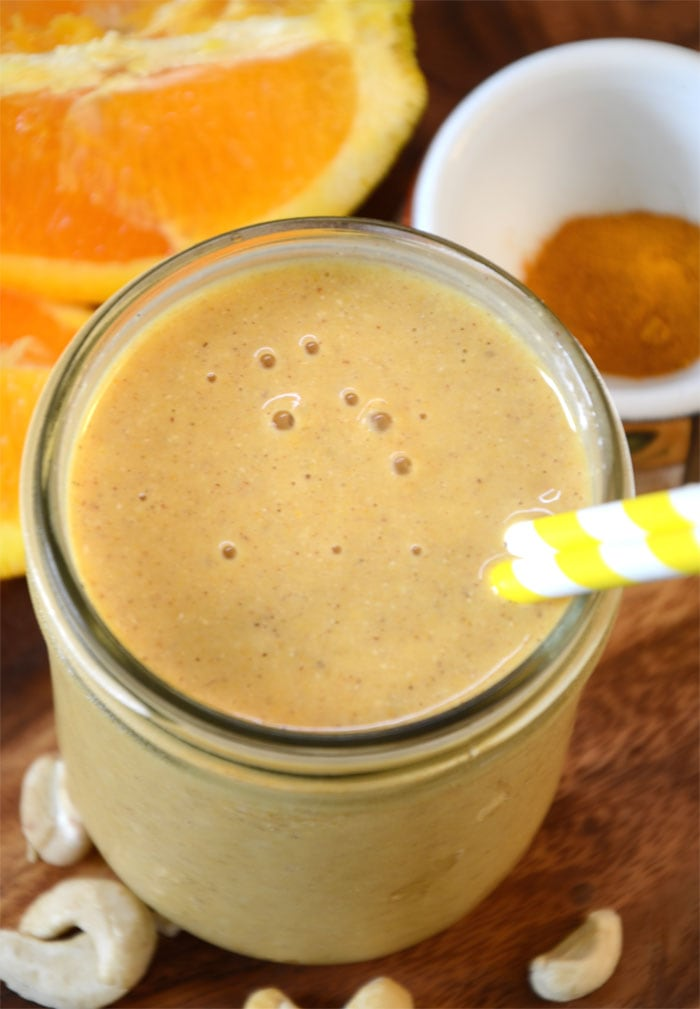 Orange Mango Smoothie for Recovery