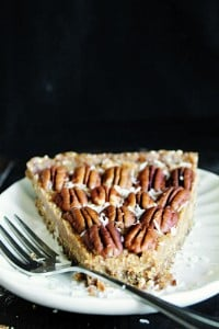Raw Vegan Maple Pecan Pie