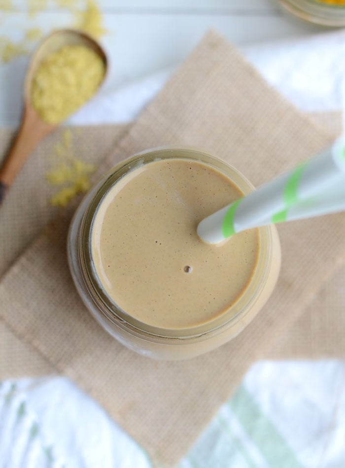 Vegan Peanut Butter Cup Protein Shake