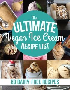 The Ultimate Vegan Ice Cream Recipe List