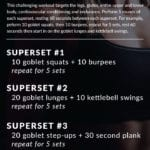 Death by Goblet: A 30 Minute Full-Body Workout for Strength and Conditioning