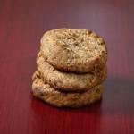 Grain-Free Peanut Butter Chocolate Chip Cookies - Vegan + Gluten-Free! #vegancookies #veganbaking