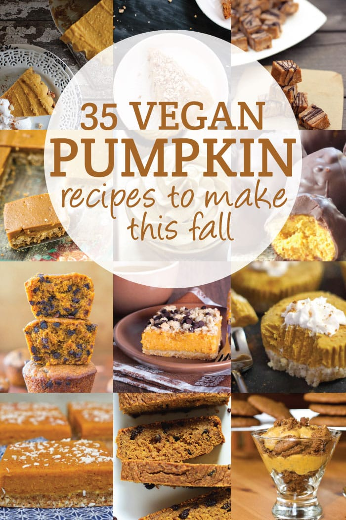 35 Vegan Pumpkin Recipes to Make This Fall