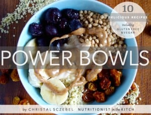 Review and Giveaway of POWER BOWLS by Nutritionist in the Kitch