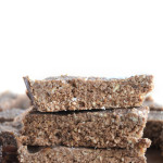 Salted Mocha Protein Bars with Coconut - Vegan, Gluten-Free, Only 7 Ingredients