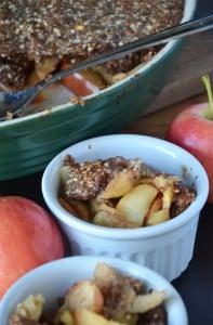 Vegan and Grain-Free Healthy Apple Crisp