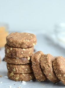 No-Bake Chocolate Coconut Protein Cookies
