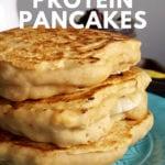 Fluffy Vegan Protein Pancakes