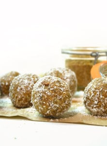 Maple Nut Balls with Flax