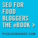 SEO for Food Bloggers e-book