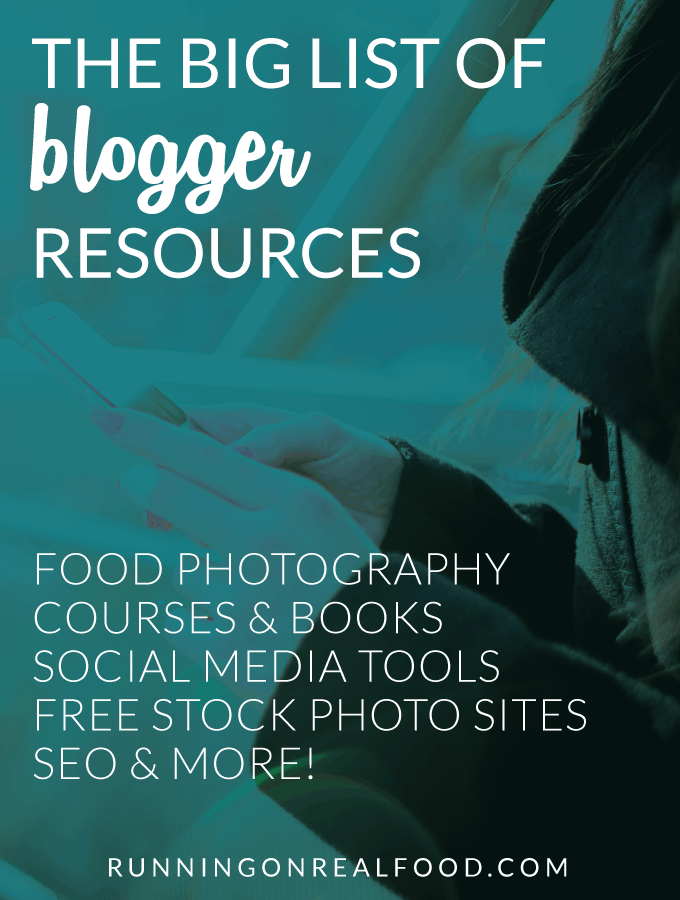 The Big List of Blogger Resources - Courses, WordPress Themes, SEO Books, Free Stock Photo Sites and More!