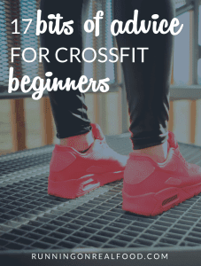 17 Bits of Advice for CrossFit Beginners