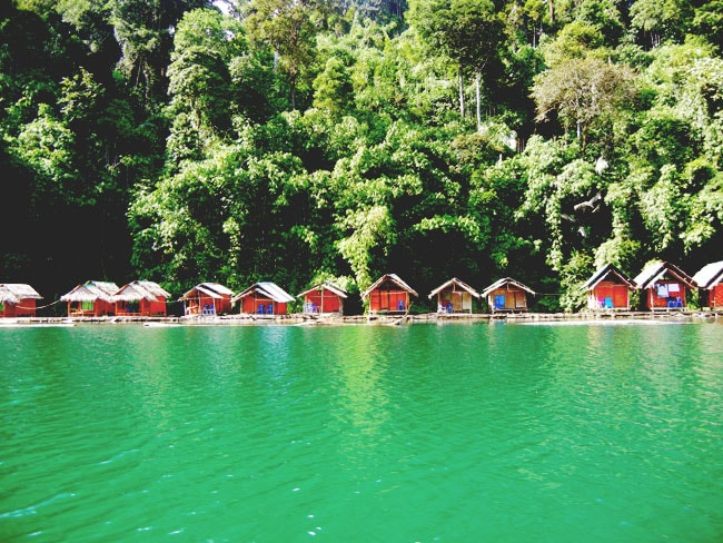 Floating Huts Chiew Lan Lake