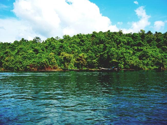 Long Tail Boats Chiew Lan Lake
