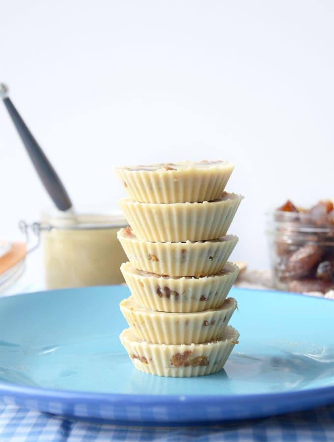 Salted Caramel Tahini Cups