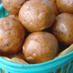 Healthy Vegan Banana Bread Balls